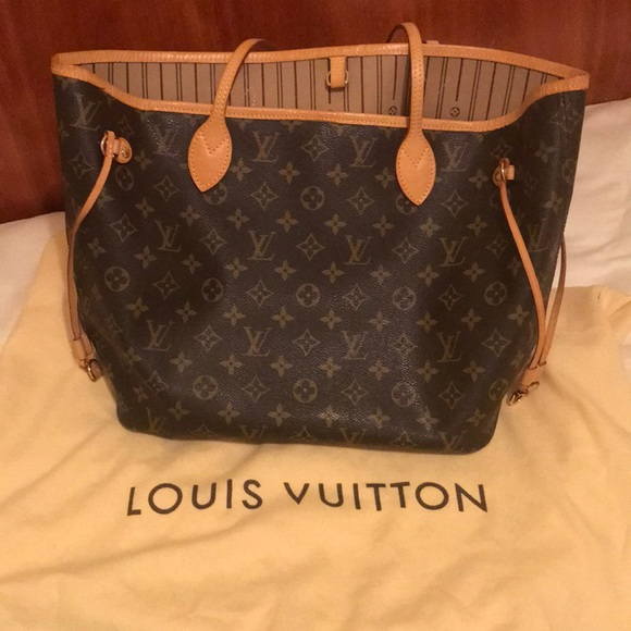 Louis Vuitton Bags   Authentic Neverfull Mm Bag   Poshmark 38c0604b5b